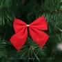 Kit Cartela Com 108 Laços Enfeite Árvore De Natal