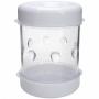 Mini Descascador De Plástico Para Ovos Cozidos Prático