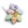 Ovos De Páscoa Para Decoração Kit Com 12 Unidades