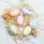 Ovos De Páscoa Para Decoração Kit Com 6 Unidades