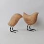 Pássaro Decorativo Decoração Escandinavo Em Poliresina 11,5Cm