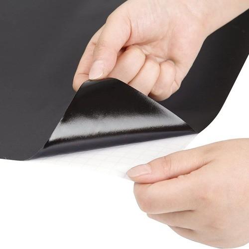 Adesivo De Parede Quadro Negro Lousa Parede Porta 45x200cm