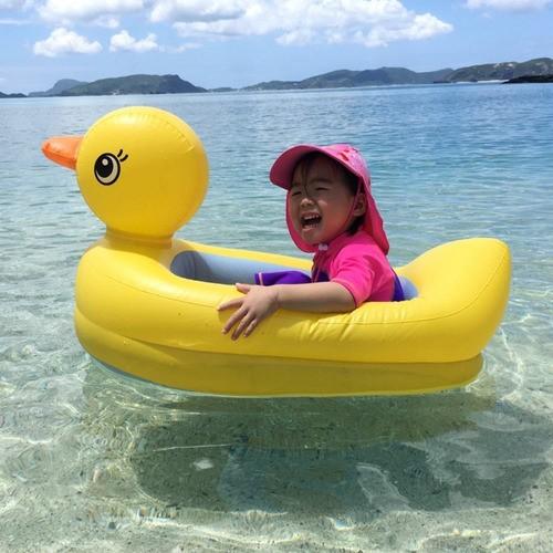 Banheira De Pato Boia Infantil Inflável Piscina Praia