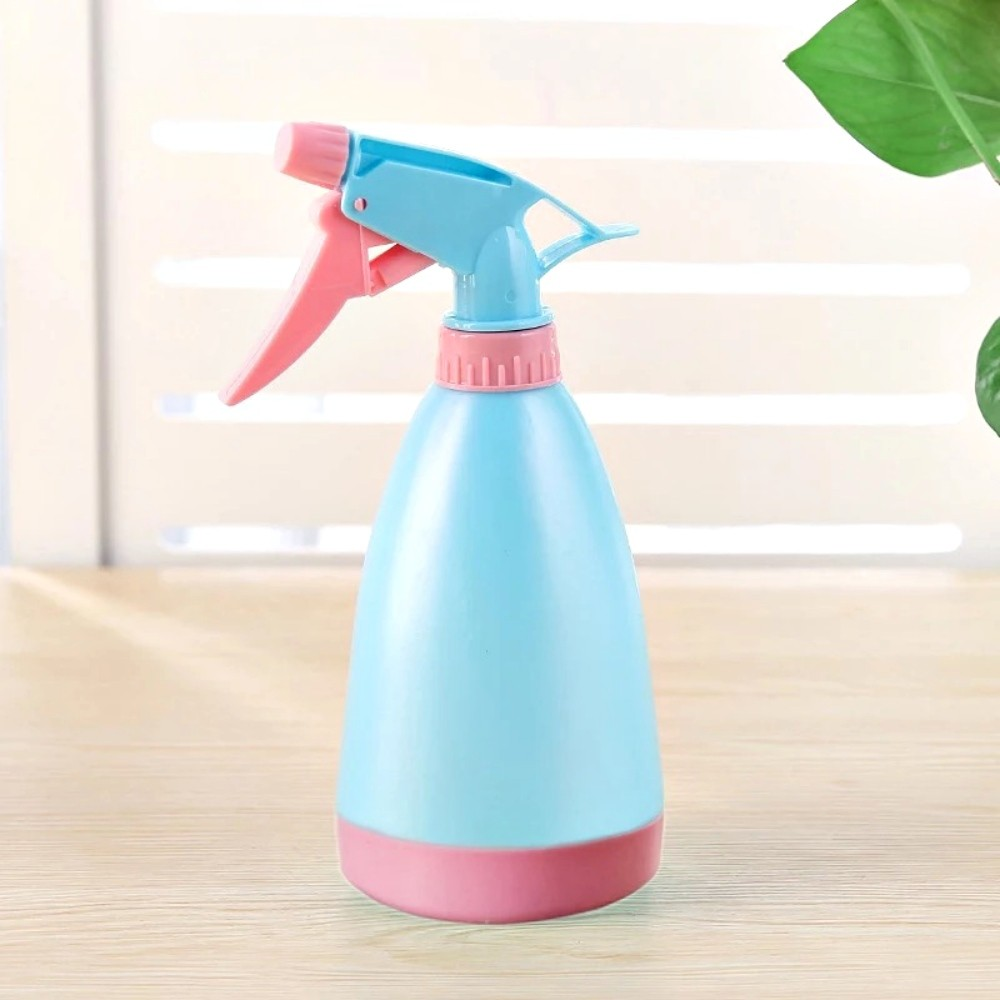 Borrifador Pulverizador Para Jardim Água Álcool Azul 500ml