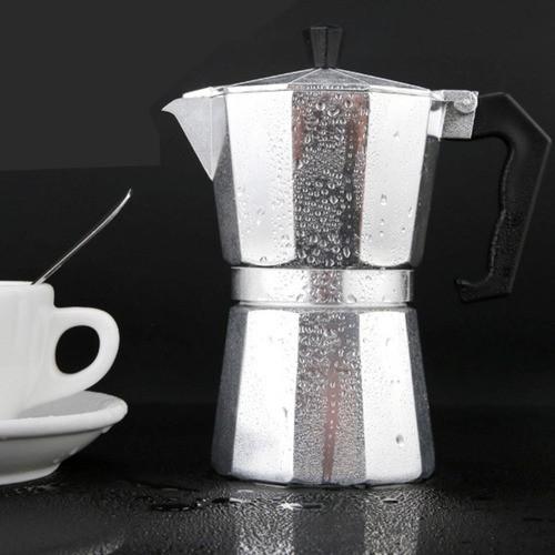 Cafeteira Italiana Em Alumínio Café Expresso 6 Xícaras 250Ml