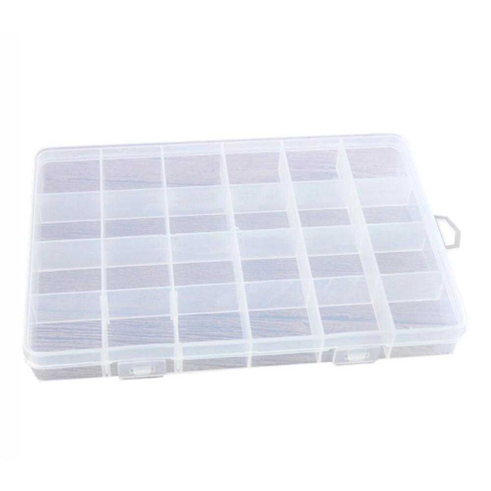 Caixa Organizadora Multiuso Com 24 Divisórias