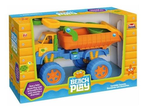 Caminhão Infantil Beach Play Carregadeira