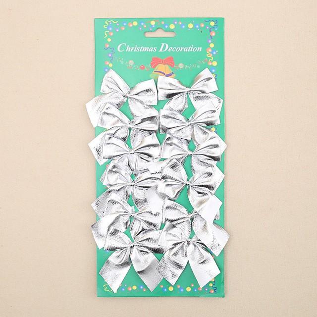 Cartela Com 204 Laços Enfeite Árvore De Natal