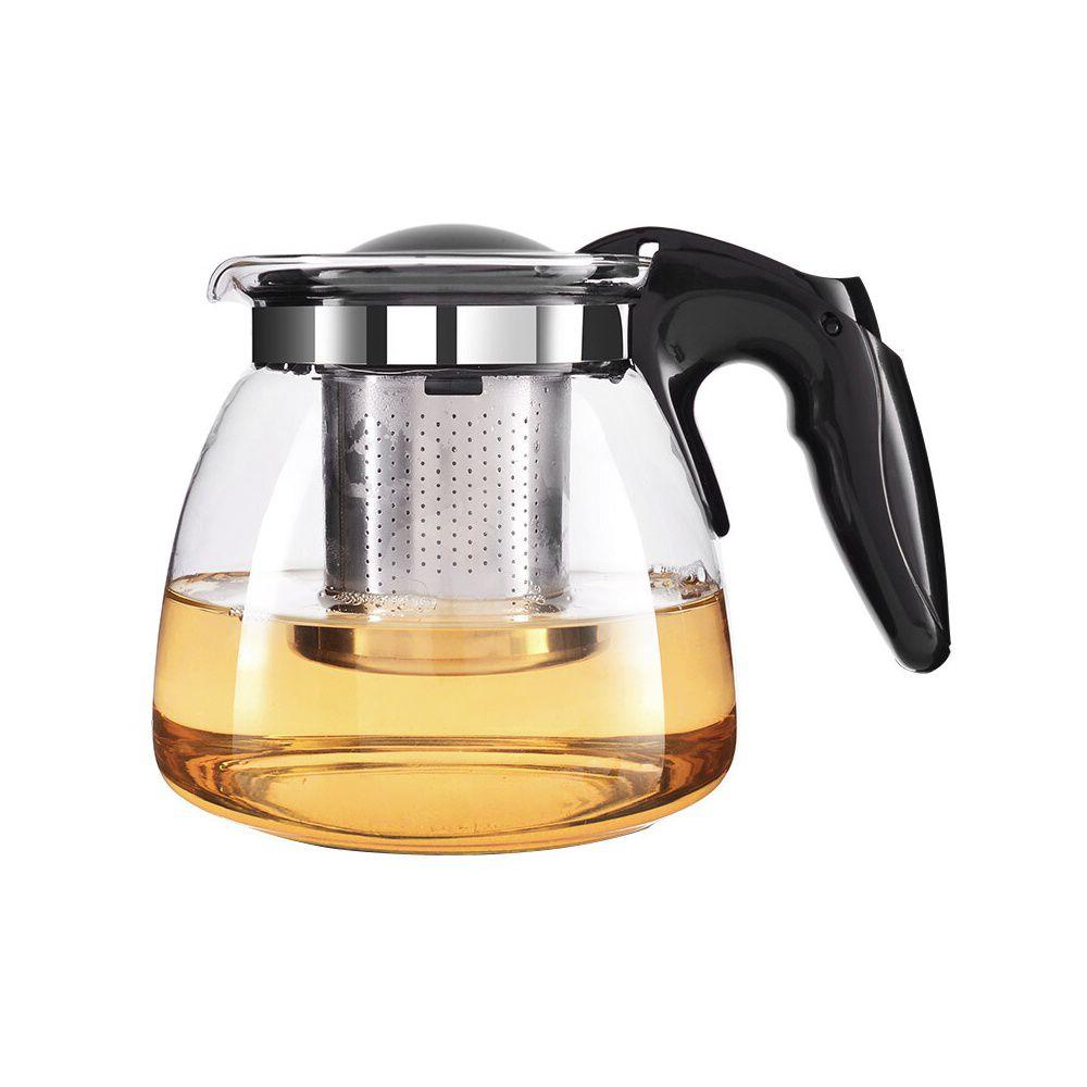 Chaleira de Vidro 700ML com Infusor Inox Para Chá