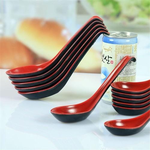 Colher De Melanina Comida Japonesa Suchi Finger Food 16 Cm