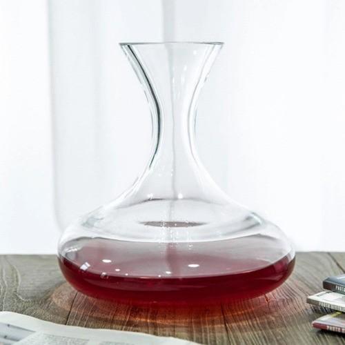Decanter De Vidro Para Vinho 1,5l 21X18Cm