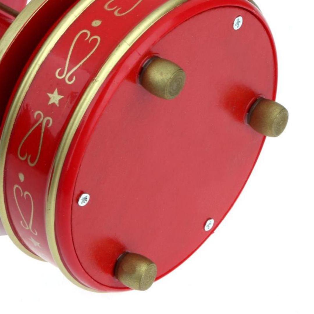 Enfeite Decoração De Natal A Corda Caixa Música Carrossel