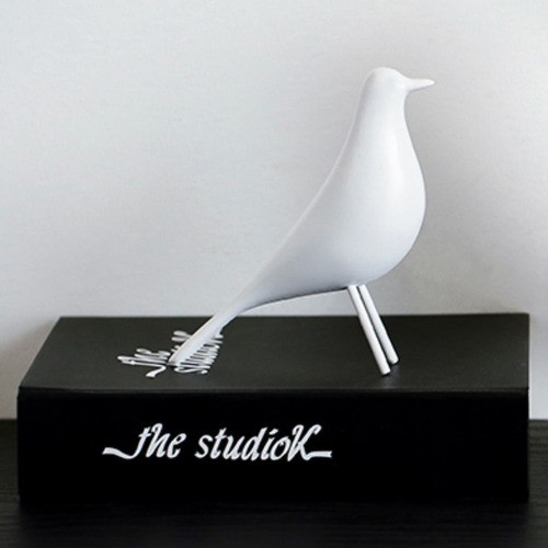 Enfeite Decorativo Passaro De Porcelana Com Pernas