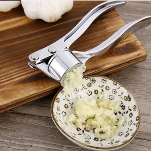 Espremedor De Alho Crush De Aço Inoxidável Garlic Press