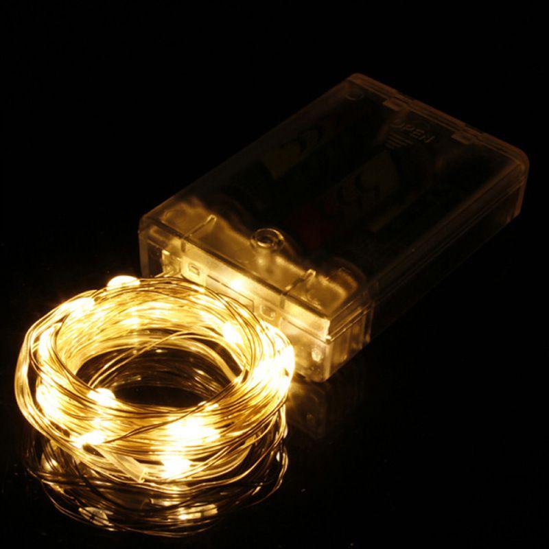 Fio De Fada Cordão Luminoso Luminária 3m 30 Leds