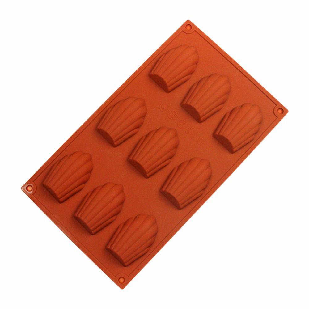 Forma De Silicone Chocolate Sabonete Doce Conchas Natal