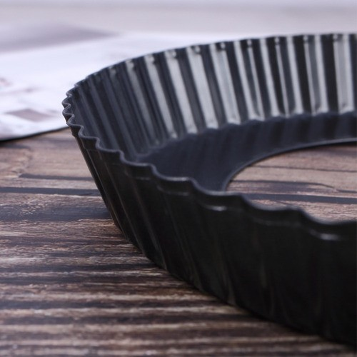 Forma Para Torta Metal Antiaderente Com Fundo Removível 26cm