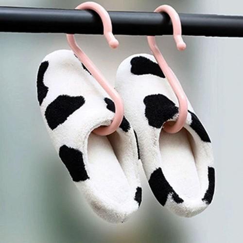 Gancho Organizador Para Pendurar Roupas Sapatos 3Un