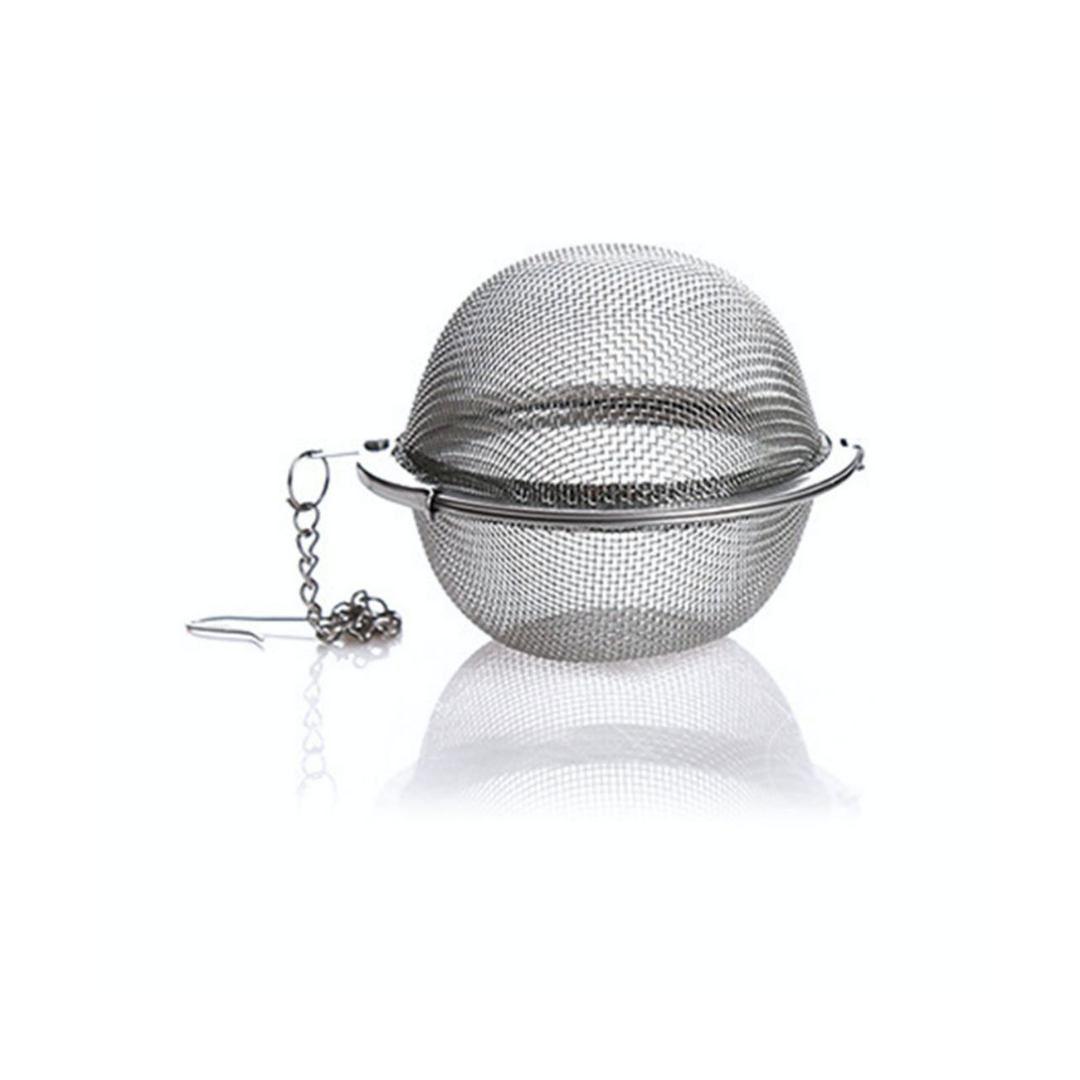Infusor De Chá Aço Inoxidável Coador Peneira Chaleira Casa