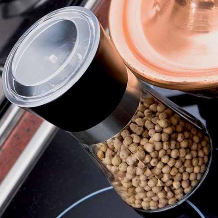 Kit Com 12 Moedores de Pimenta Temperos Euro Home Inox