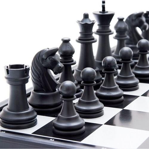 Jogo Xadrez Dobrável Magnético Tabuleiro 2,2X31,5X31,5