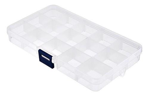 Kit 20 Caixa Organizadora Multiuso 15 Divisórias Moduláveis