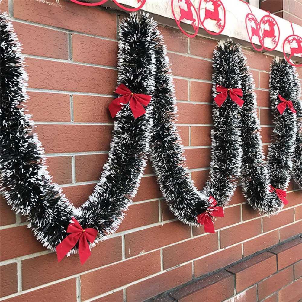 Kit 20 Festão Nevado 2 Metros 5 cm Enfeite Arvore Natal