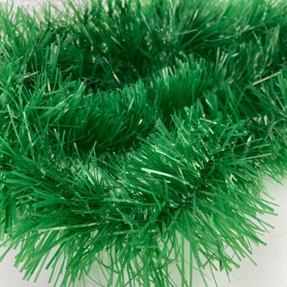 Kit 2 Festão Verde de 2 Metros 5 cm Enfeite Arvore Natal