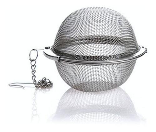 Kit 2 Infusor De Chá Aço Inox Coador Peneira Chaleira Casa