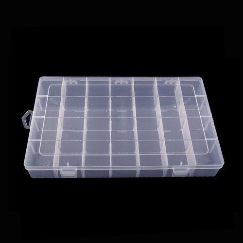 Kit 3 Caixa Organizadora Multiuso 28 Divisórias Moduláveis