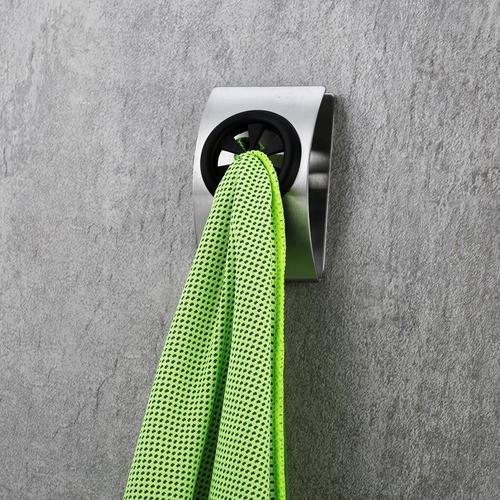 Kit 3 Suporte Parede Para Toalha Banheiro Toalheiro Aço Inox