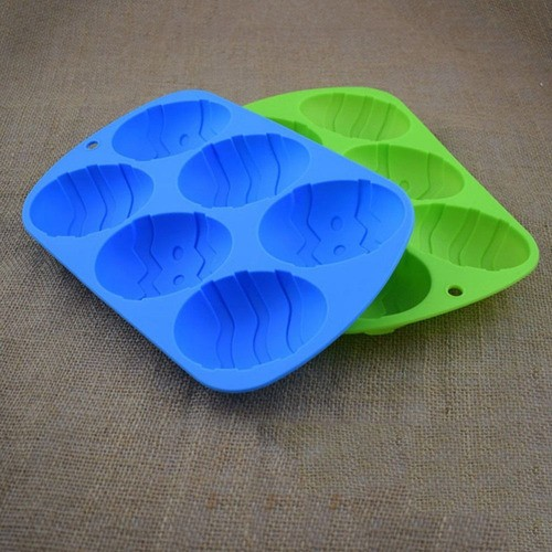 Kit 4 Formas De Silicone Ovo E Coelho De Páscoa Chocolate 13x21