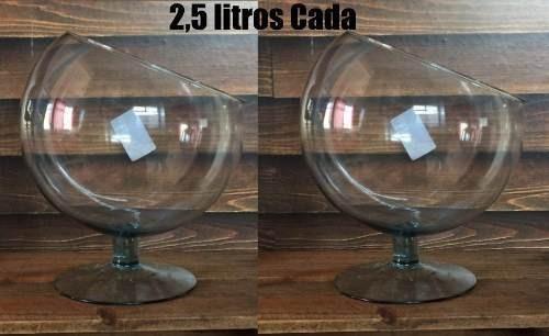 Kit 4 Taça 2 Boca Torta 2l + 1 B. Torta 1l + 1 B. Reta 2l