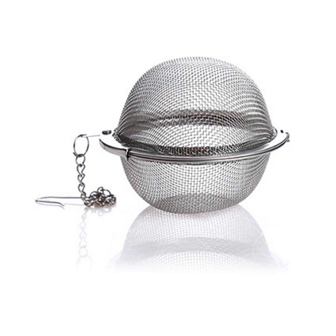 Kit 5 Infusor De Chá Aço Inox Coador Peneira Chaleira Erva