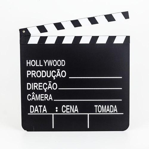Kit Para Youtube Claquete E Quadro Alfabético Letreiro