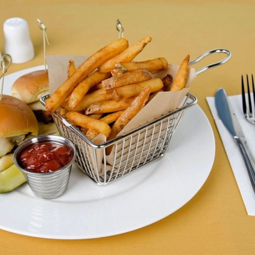 Mini Cesto Para Batata Frita Porções Frango Restaurante