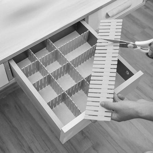 Organizador Divisor De Gavetas Meias Lingerie 6,5x42,3cm