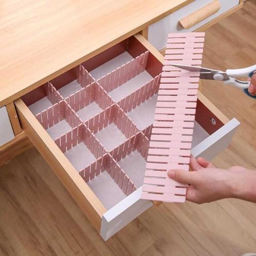Organizador Divisor De Gavetas Meias Lingerie 7x32cm