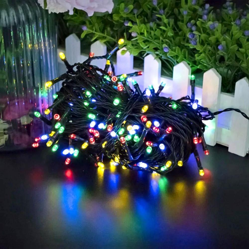 Pisca Pisca Colorido Decorativo Árvore De Natal 100 Leds