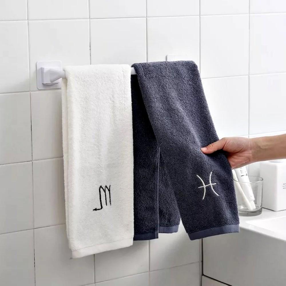 Porta Toalha Banho Toalheiro Multiuso De Plástico Banheiro