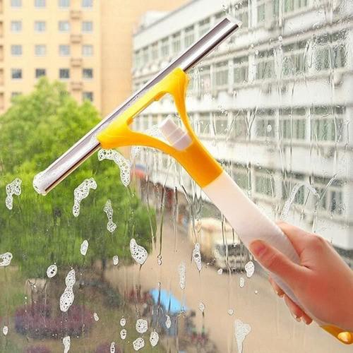 Rodo Rodinho Com Reservatório Spray 2 Em 1 Vidro Pia Azulejo