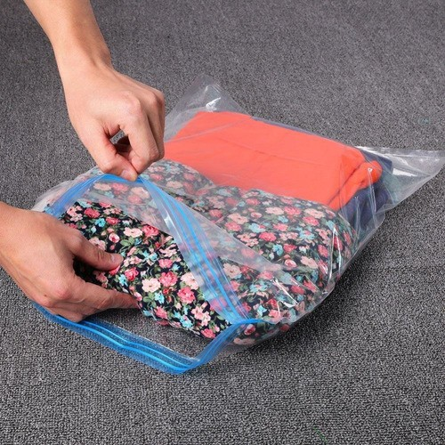 Saco À Vácuo Organizador Edredom Cobertor Roupa 80x60Cm