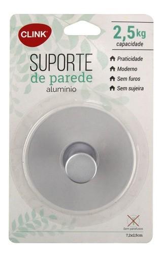 Suporte De Parede Porta Toalhas Autoadesivo 2,5Kg Alumínio