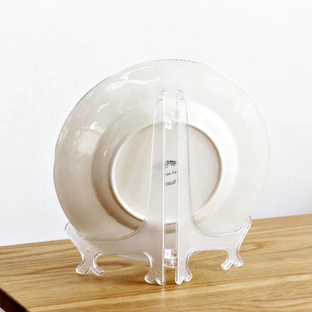 Suporte De Plástico Enfeite Para Azulejo Porta Retrato 22Cm