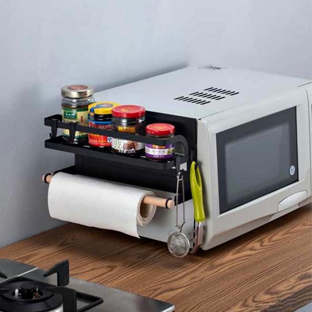 Suporte Metal Magnético De Geladeira Cozinha Porta Tempero