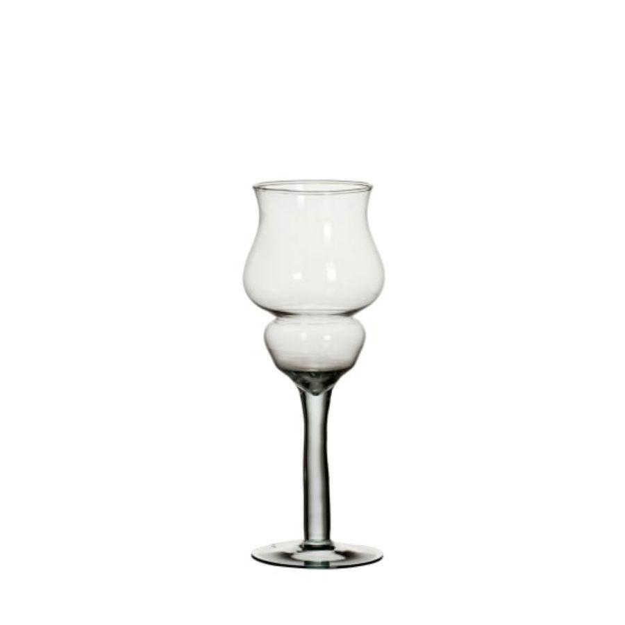Taça Castiçal Vaso Para Decoração Em Vidro casamento Mesa