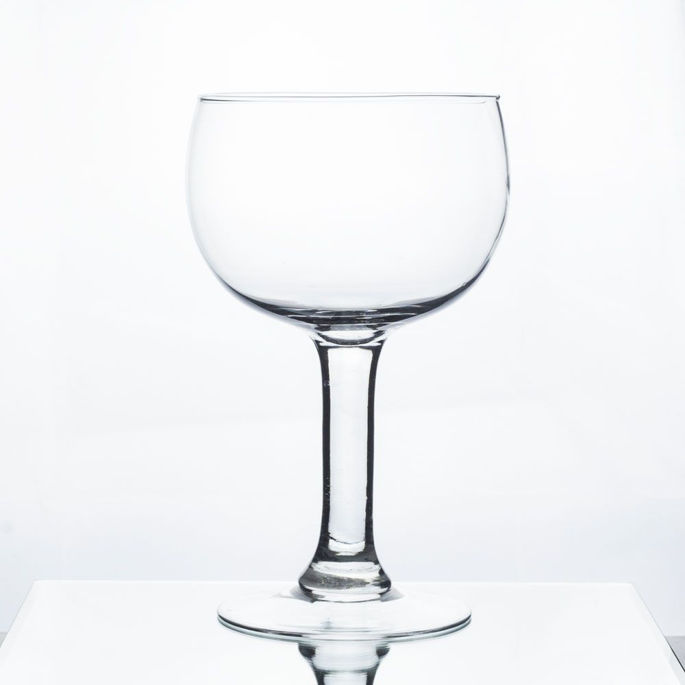 Taça Vaso Castiçal De Vidro Para Decoração 25cm Altura