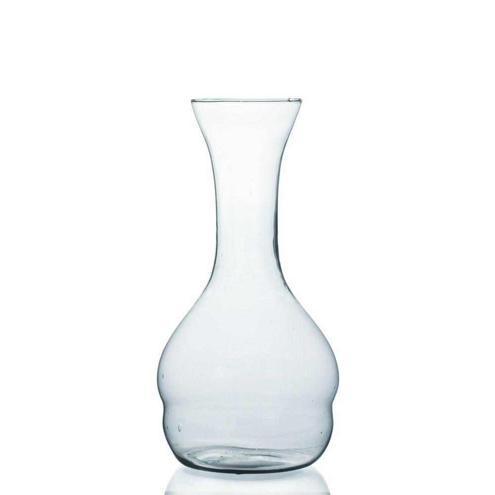 Vaso De Vidro Modelo Garrafa Para Arranjos Flores