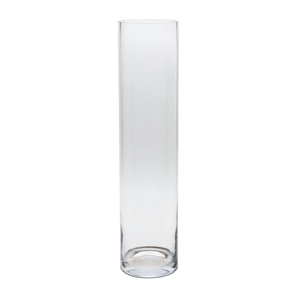 Vaso De Vidro Tubo 11x60cm Decoração Casamento Flores