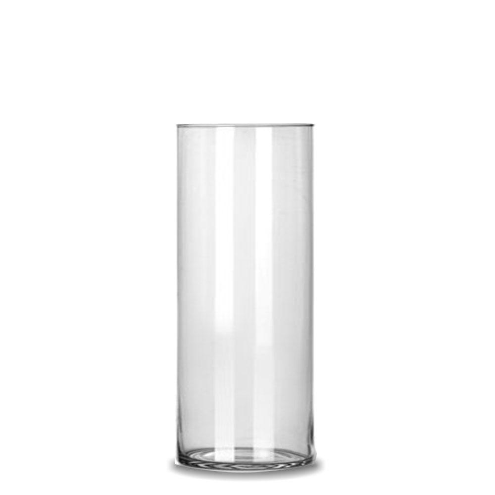 Vaso Tubo Copo Cilindro De Vidro 17x40cm Decoração Casamento